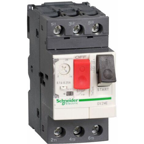 """main image of """"Disjoncteur moteur GV2ME 6 à 10 A 3P 3d déclencheur magnétothermique - GV2ME14"""""""