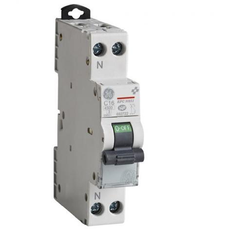 Disjoncteur Phase Neutre Unibis - à Vis - 4,5kA