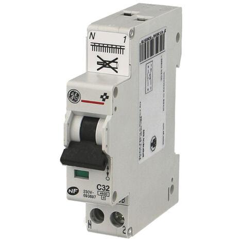 Disjoncteur Phase Neutre Unibis - Automatique - 4,5kA