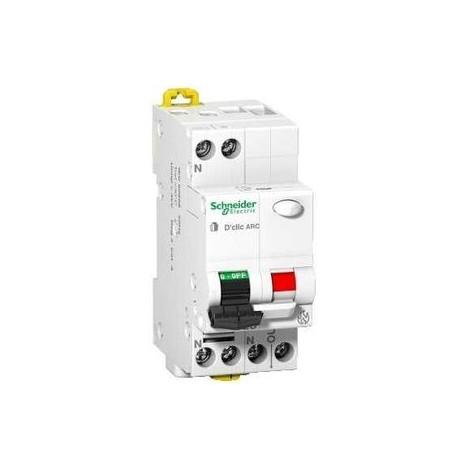 Disjoncteur Schneider Electric Dclic Arc 10A 1P+N