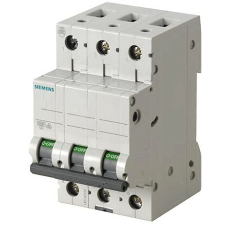 Disjoncteur Siemens 3P 16A 6 ka Type C 3 Modules