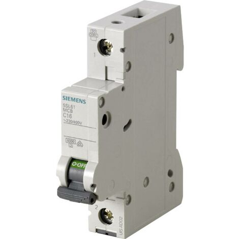 Disjoncteur Siemens 5SL6120-7 1 pôle 20 A 1 pc(s)