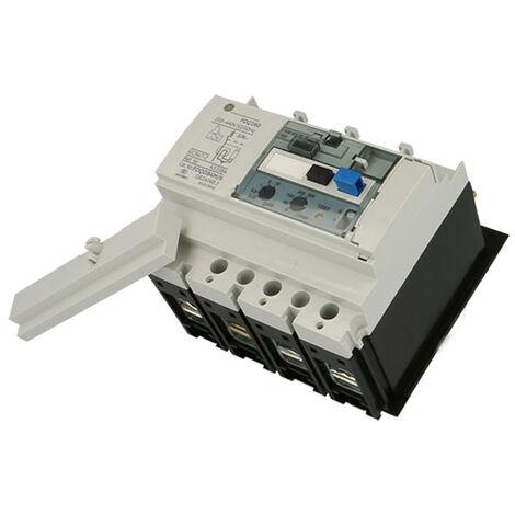 Disjoncteur tarif jaune 160A 4P4D 36kA FDE General Electric avec déclencheur