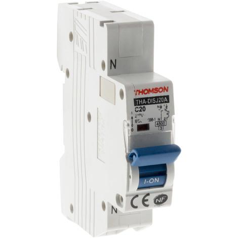 Disjoncteurs à connexions automatiques PH+N NF Thomson