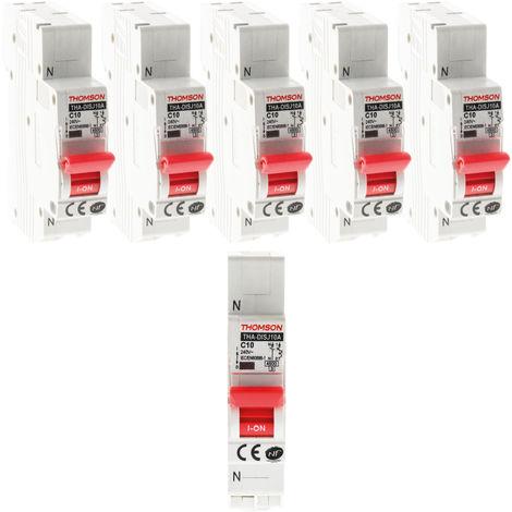 Disjoncteurs à connexions automatiques Thomson - 10, 16, 20, 32A