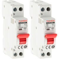 Disjoncteurs à vis PH+N Thomson - 2/10/16/20/32A - NF