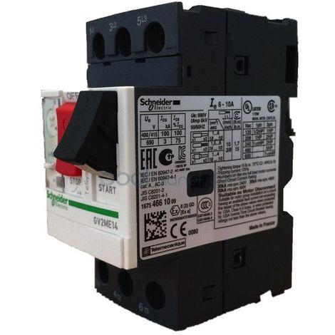 Disjoncteurs magnéto-thermique schneider GV2
