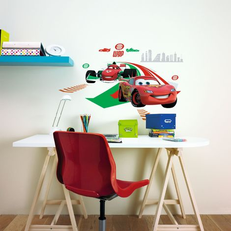 Disney Cars 2 X Large Self Adhesive Wall Stickers (Was £10)