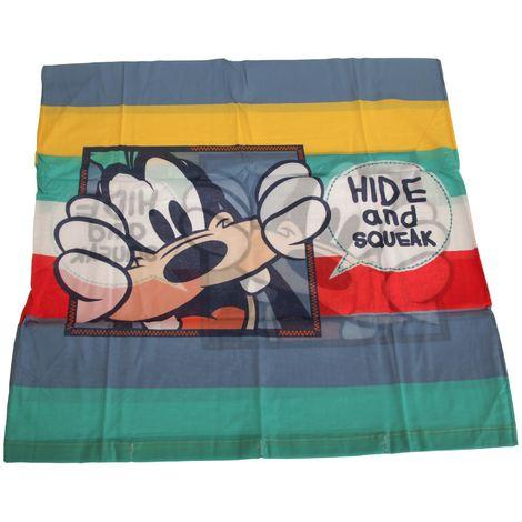 Disney Children/Kids Mickey Plays Square Pillowcase (80cm x 80cm) (Mulicoloured)