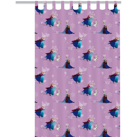 Disney Children's Curtain Frozen Elsa 250x140 cm Purple ASSO234004
