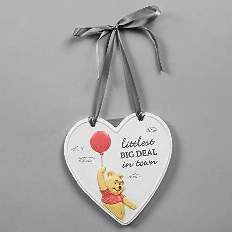 Disney Christopher Robin Heart Littlest Big Deal Plaque