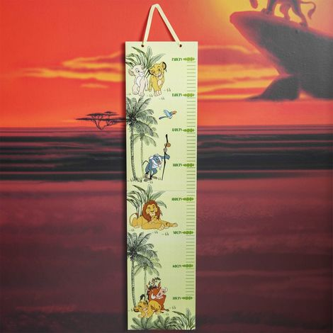 Disney Lion King Folding Wooden Kids Height Chart 70cm to 150cm