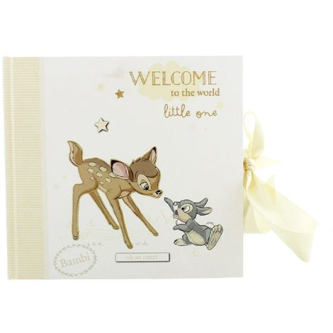 "Disney Magical Beginnings Baby Photo Album - Bambi - 50 x 4"" x 6"""