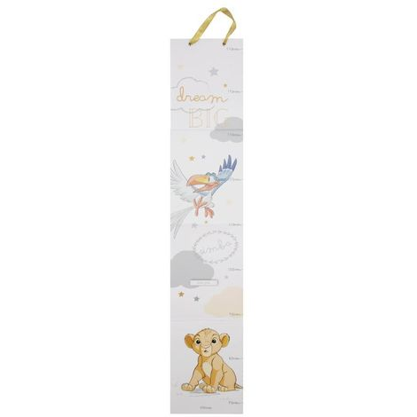 Disney Magical Beginnings Kids Height Chart - Simba - 65cm to 150cm