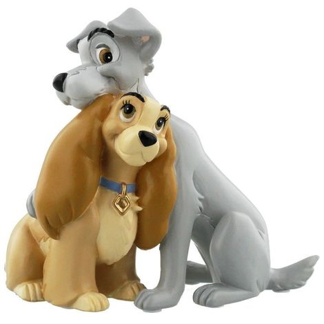 Disney Magical Moments Figurine - Lady & the Tramp