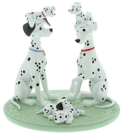 Disney Magical Moments Hand Painted Resin Figurine - 101 Dalmatians