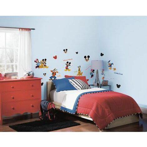 DISNEY MICKEY ET SES AMIS - Stickers repositionnables Mickey et ses amis, série d'animation Disney - Multicolore