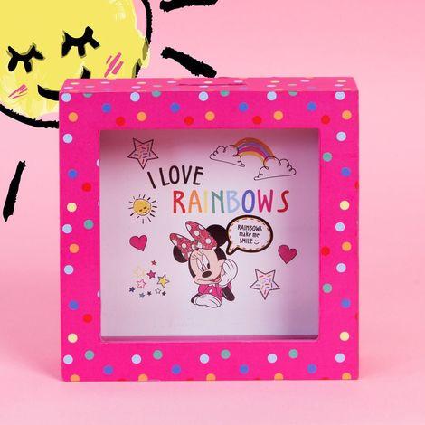 Disney Minnie Mouse Pink Polka Dot Money Box