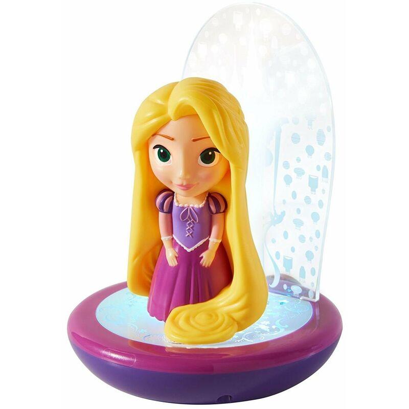 Veilleuse projecteur - lampe torche Princesse Raiponce de Disney