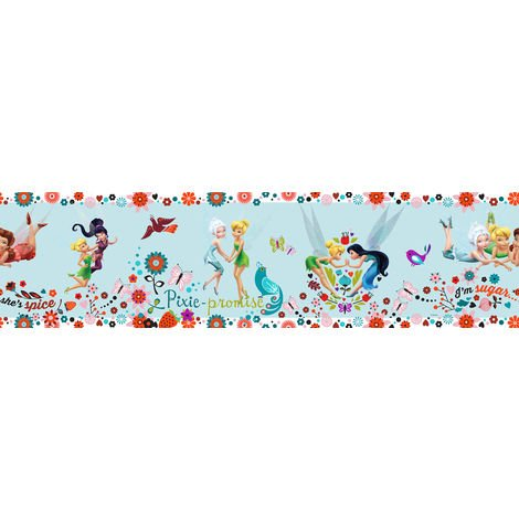 Disney Tinkerbell Childrens Wallpaper Border (Was £9)