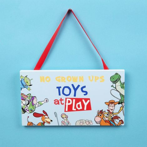Disney Toy Story 4 Bedroom Plaque
