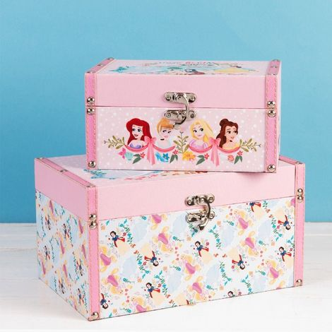 Disney True Princess Set of 2 Storage Boxes