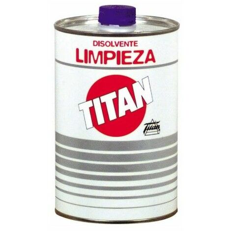 Disolvente Limpieza Envase Metalico Titan 5 Lt