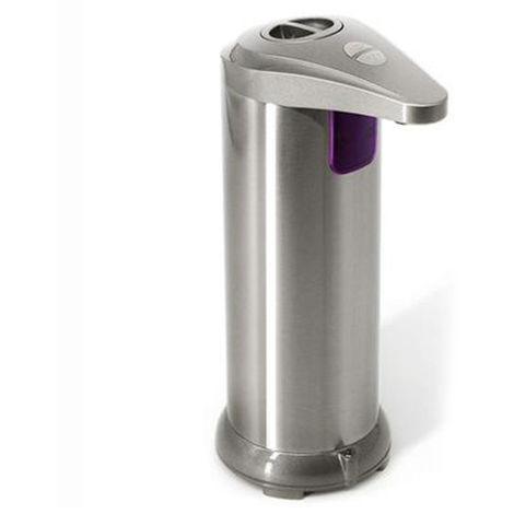 Dispensador automatico de jabon, botella de gel de lavado de manos, champan