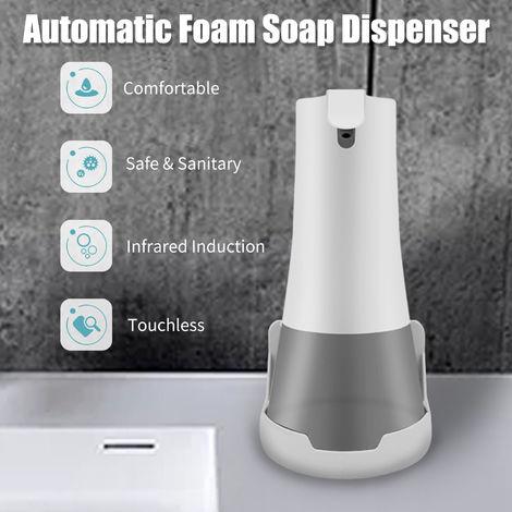 Dispensador automatico de jabon de espuma, infrarrojo, manos libres, 230ml