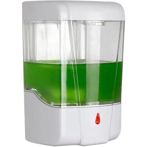 Dispensador automatico de jabon por induccion, maquina desinfectante para manos, 600ml