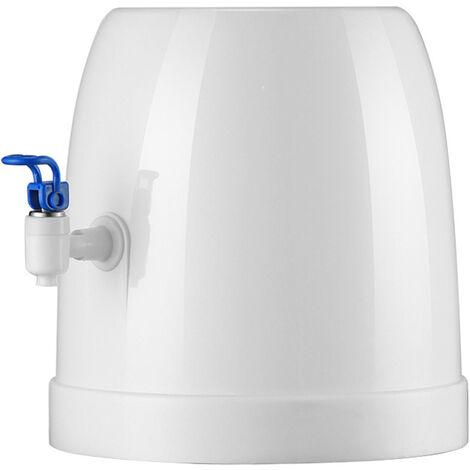Dispensador de agua con grifos Dispensador de bebidas Dispensador de agua pequeno y sencillo Base de soporte Dispensador de agua embotellada de escritorio para el hogar Capacidad de 3-18L