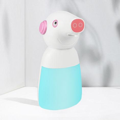 Dispensador de jabon con sensor inteligente para el hogar, azul