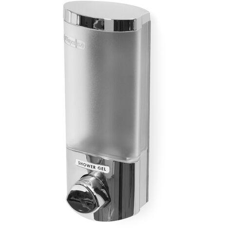 Dispensador de jabón de pared - Plata
