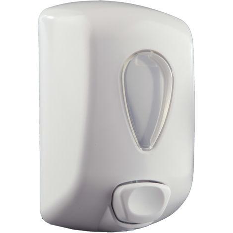 Dispensador de jabón líquido y gel ABS blanco (900ml) - CM Baños