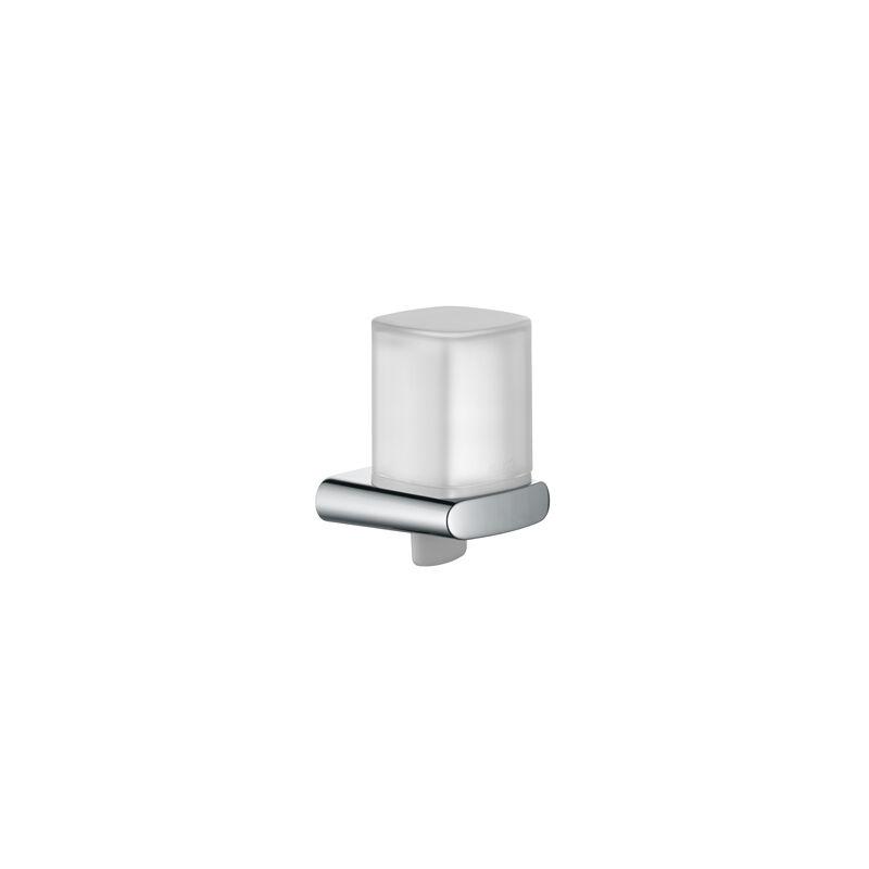 Dispensador de lociones Elegance 11652, completo, plástico, soporte y bomba cromada - 11652010100 - Keuco