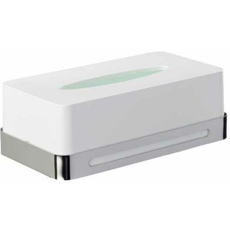 Dispensador de pañuelos para cosmética de acero fino Premium Plus