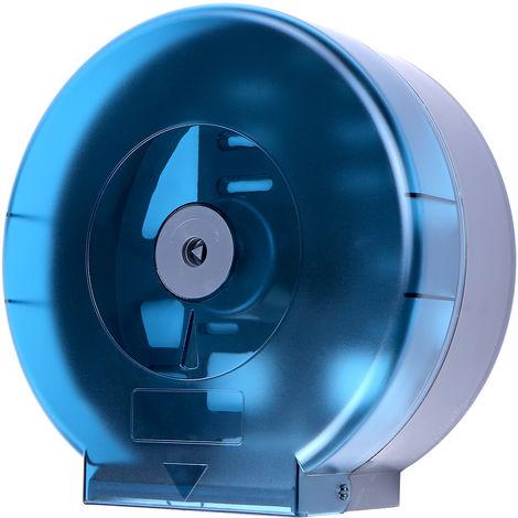 Dispensador de rollos de papel higienico, para el hogar,Azul