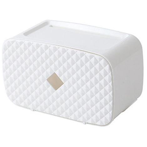 Dispensador de toallas de papel, montado en la pared,blanco