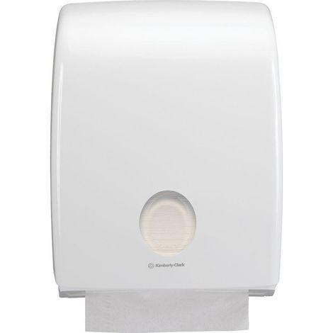 Dispensador papel higiénico Aquarius estándar, blanco