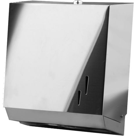 Dispensador toallas de papel acero inosidable Brillo - CM Baños