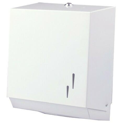 Dispensador toallas papel acero lacado - CM Baños