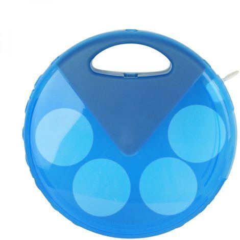 Dispenseur de chlore et de brome flottant réglable pour piscine - Diam 25 cm - Linxor