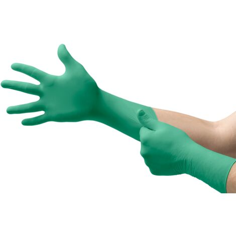 Disposable Gloves, Nitrile, Long Cuff, (Box-100)
