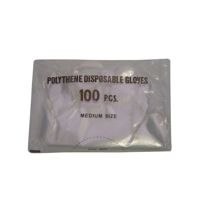 Image of Disposable Shoulder Polygloves (100 Pack) (100 Pack) (May Vary)