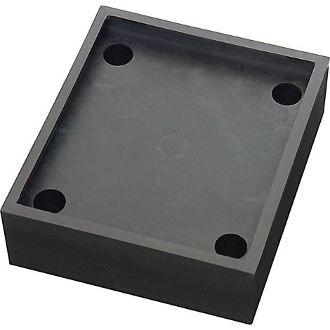 Dispositif à ressorts en polyuréthane, pour rambarde de protection noir