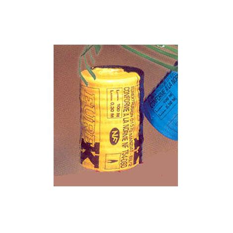 Dispositif avertisseur - Grillage bleu pour l'eau le rouleau de 100 mètres