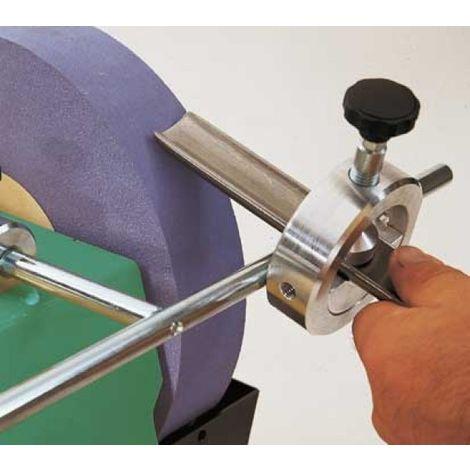 Dispositif d'affûtage Scheppach V55 pour gouge et ciseau à bois, outil de tournage