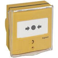 Dispositif de commande d'extinction à 1 contact pour fixation encastrée ou saillie (138025)