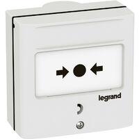 Dispositif de commande pour coupure à 1 contact pour fixation encastrée ou saillie (138071)