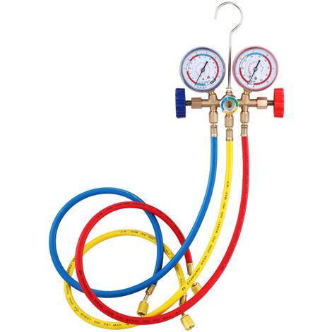Dispositif de diagnostic de refrigeration de climatisation Outil d'instrument de diagnostic de collecteur de refrigerant CT-536